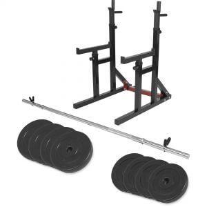 Multi Squat Rack inkl. Langhantelset Set