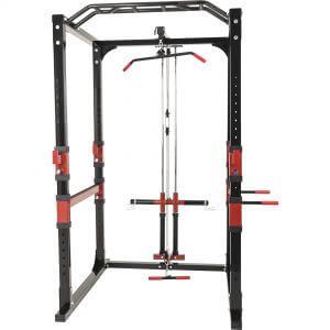 Power Lifting Station Rack Home Gym inkl. Latzug