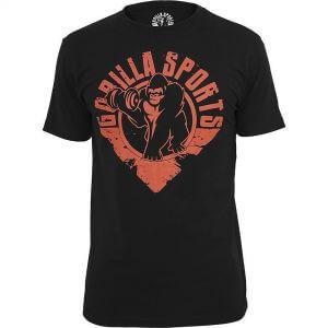 Gorilla T-Shirt Schwarz