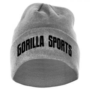Beanie Gorilla Sports Grau One Size