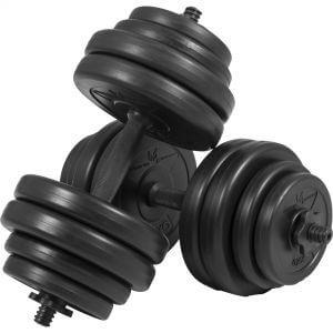 E-Series Kurzhantelset 25 mm Kunststoff 30 kg