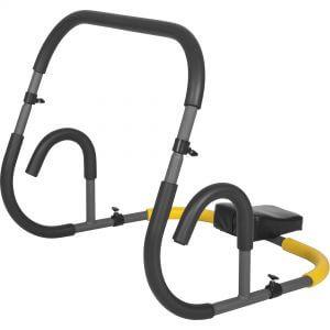 E-Series Ab Roller Dunkelgrau/Schwarz
