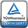 TÜV Rheinland Zertifiziert - ID: 1419042647